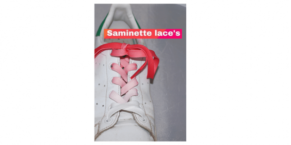 samientte.fr lacets rose stan smith