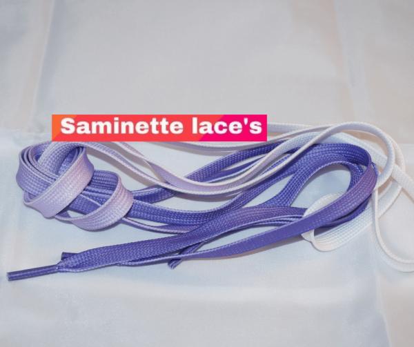 saminette.fr lacets violet newbalance