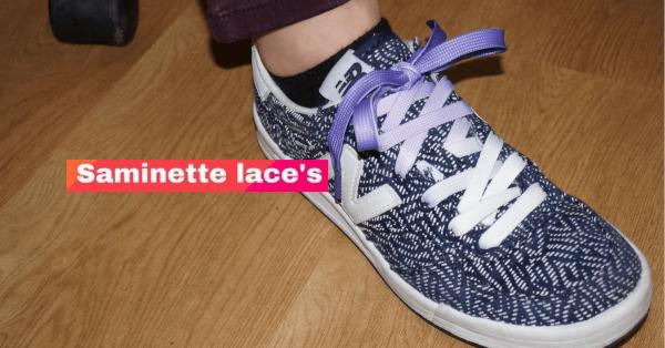 SAMINETTE.FR LACETS ROSE BASKETS NOIR (1)