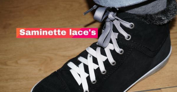 saminette.fr lacets de couleurs gris et blanc (1)